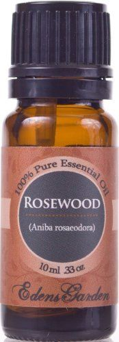 Rosewood 100% Pure Therapeutic Grade Essential Oil- 10 ml by Edens Garden,