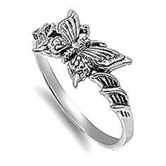 VE-01038 Sterling Silver Butterfly Band Ring (5) Jinique http://www.amazon.com/dp/B00PBD6PYQ/ref=cm_sw_r_pi_dp_ckTewb13ZRSNV