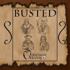 "'Busted', containing 10 tracks, was the first release of the group ""The Misbehavin' Maidens"". Item from Scientific Computing 2017 holiday gift guide 'Permutations in Holiday Gift Selection and Acquisition'."