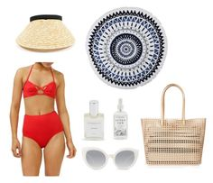 """""""Chic Beach"""" by azaleasf on Polyvore featuring Lonely Hearts, Herbivore, Crap, Loeffler Randall and Azalea"""