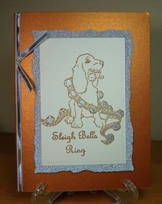 Silver Bells for a Spaniel by susanbri - Cards and Paper Crafts at Splitcoaststampers