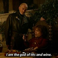 The god of tits and wine