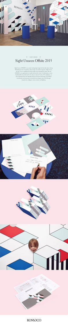 Sight Unseen Offsite 2015 Branding by Ro and Co. | Fivestar Branding – Design and Branding Agency & Inspiration Gallery