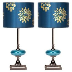 Love these lampshades