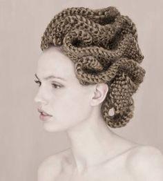 tentacles Creative Hairstyles, Up Hairstyles, Angelo Seminara, Avant Garde Hair, Editorial Hair, Fantasy Hair, Hair Shows, Crazy Hair, Hair Art