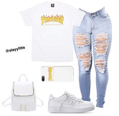 everyday outfits for moms,everyday outfits simple,everyday outfits casual,everyday outfits for women Swag Outfits For Girls, Boujee Outfits, Cute Swag Outfits, Teenage Girl Outfits, Teen Fashion Outfits, Dope Outfits, Stylish Outfits, Summer Outfits, School Outfits