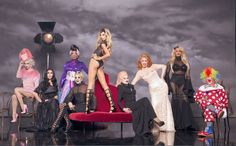 """BONUS: See All The """"Drag Race"""" Season 8 Queens' Glamour Shots With Past Winners"""