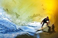 Surfing the golden room...