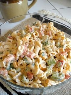 Fajita Pasta Salad - Recipe Box - It's not just for grandmas!