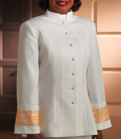 Closeout Clergy Robes | Womens Clergy Jacket
