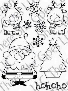 Christmas Doodles, Noel Christmas, Christmas Colors, All Things Christmas, Winter Christmas, Christmas Decorations, Christmas Ornaments, Christmas Templates, Christmas Printables