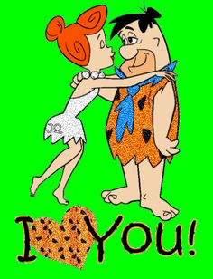 Flinstone  | Fred Flintstone and Wilma - the-flintstones Fan Art