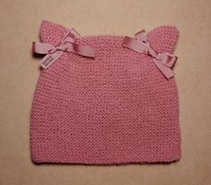 Web Server's Default Page Einfaches - Diy Crafts - hadido Baby Hats Knitting, Knitting For Kids, Easy Knitting, Knitting Stitches, Knitted Hats, Knitting Designs, Knitting Projects, Knitting Patterns, Crochet Patterns