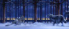 Polar express | Scene from The Polar Express in IMAX 3D
