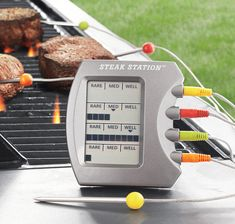 Charcoal Companion Steak Station Thermometer | Cool Material