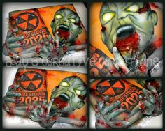 Call of Duty Zombie - by Day @ CakesDecor.com - cake decorating website