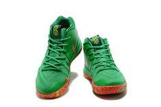 2018 Nike Kyrie 4 Fall Foliage PE Green Red Orange Cheap Kyrie Shoes 2018