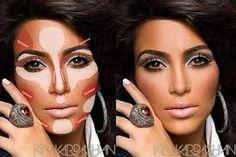 Explications en français du maquillage ''contouring''