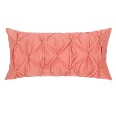 Bedroom inspiration and bedding decor | The Coral Pintuck Throw Pillows | Crane and Canopy