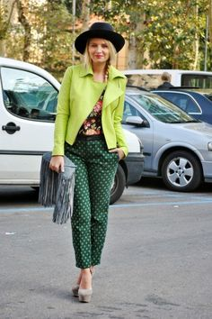 Fall Trend: Patterned Pants