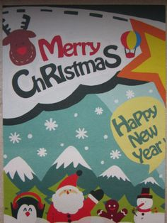 Received from China (helenedk) Christmas card Tag