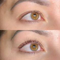 If you're tired of using strip lashes a Keratin Lash lift and tint is the perfect solution! No more curling your lashes and the messy glue! A keratin lash lift can lasts up to weeks! Makes your life so much easier! DM or text to book an appointment! Eyelash Perm, Eyelash Lift, Eyelash Glue, Eyelash Extensions, Russian Eyelashes, Keratin Lash Lift, How To Wear Makeup, Lash Tint, Brown Eyes