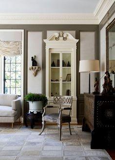 beige interior, limestone flooring