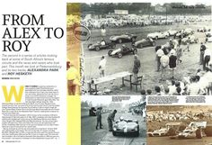 We hope you enjoy your visit to this website, enquiries, comments and suggestions will be most welcome.We still need contributions of programme covers and contents not listed between 1953 to Alexandra Park, Newspaper Article, Circuit, South Africa, Two By Two, Articles, Racing, Cars, Running