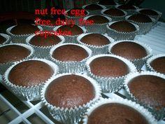 #Nut Free / #Dairy Free / #Egg Free#Cupcakes