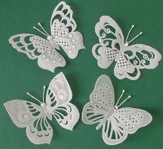 Бабочки пергамано