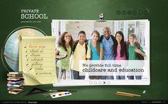 My School HTML5 Template 300111428 by Dynamic Template, via Behance