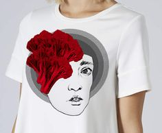 T-shirt / Heads and hats / SHONSKI art and design studio
