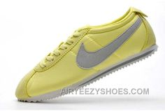 huge selection of 9f316 400be Now Buy Hot Nike Cortez 2 Oxford Cloth Women Shoes Green Grey Save Up From  Outlet Store at Footlocker.