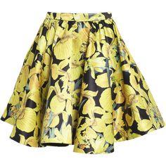 Alice + Olivia Brooke Poof Skirt ($330) ❤ liked on Polyvore