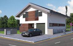 Typový dům mini Carizma od APEX ARCH s.r.o. Garage Doors, Mini, Outdoor Decor, Home Decor, Decoration Home, Room Decor, Home Interior Design, Carriage Doors, Home Decoration