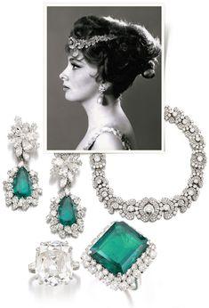 Gina Lollobrigidas Bulgari jewelry on sale at Sothebys
