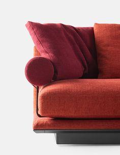 B&B Italia Noonu: the new sofa system designed by Antonio Citterio Sofa, Couch, B & B, Love Seat, Furniture, Design, Home Decor, Italia, Home
