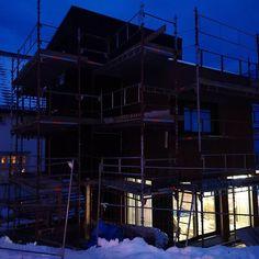 Vi startet bygge opp nytt hus med samarbeidspartner Bygg Design AS 💪 Design