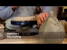 The trailer offers a glimpse into each of the eleven chapters of the full DVD video by Kristen Kieffer Surface Decoration: Suede to Leatherhard. Ceramic Tools, Ceramic Clay, Ceramic Artists, Ceramic Pottery, Ceramic Studio, Ceramic Techniques, Pottery Techniques, Pottery Tools, Pottery Classes