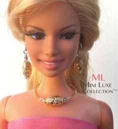 fashion royalty dolls   Doll Jewelry for Barbie doll, Fashion Royalty dolls, Silkstone Barbie ...