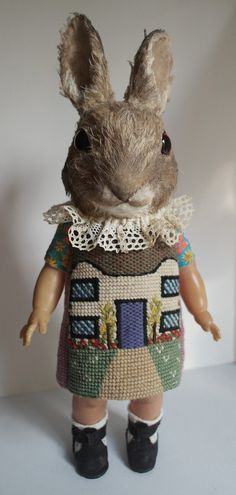House Bunny. by AnnieMontgomerie on Etsy