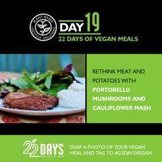 Day 19: 22 Days of #Vegan Meals #22daysnutrition