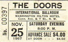 Washington DC classic rock memories and history info concerts ticket stubs beatles nils lofgren wash dc