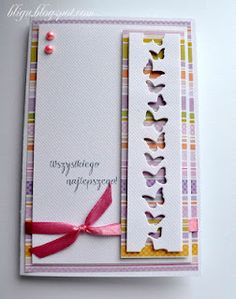 An easy card to make using only 2 paper