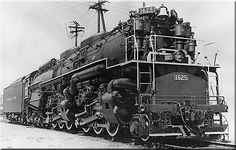The 2-6-6-6 Allegheny Type