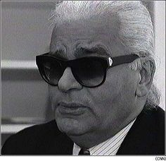 Karl needs no introduction he is a Fashion designer, photographer, artist, intellectual and much more. He is a Renaissance man. Renaissance Men, Karl Lagerfeld, Mens Sunglasses, People, Fashion Design, Style, Teachers, Swag, Men's Sunglasses