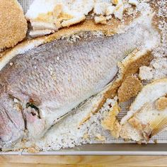 Perfect Salt-Baked Fish