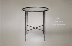 Lucy Smith Designs | Accent Tables. Please contact Avondale Design Studio for more information about any of the products we feature on Pinterest.