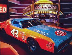 Richard Petty's famous # 43 NASCAR
