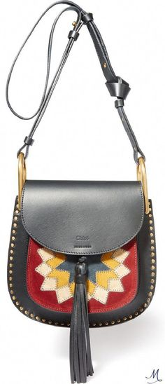 0093308551 CHLOÉ Hudson Wonder Woman small leather and suede shoulder bag Chloe  Hudson, Handbags On Sale